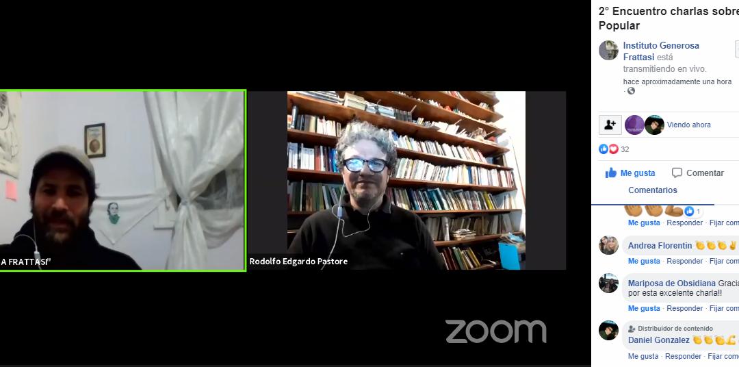 «ECONOMÍA POPULAR Y ECONOMÍA SOCIAL Y SOLIDARIA»: video completo de la charla con Rodolfo Pastore