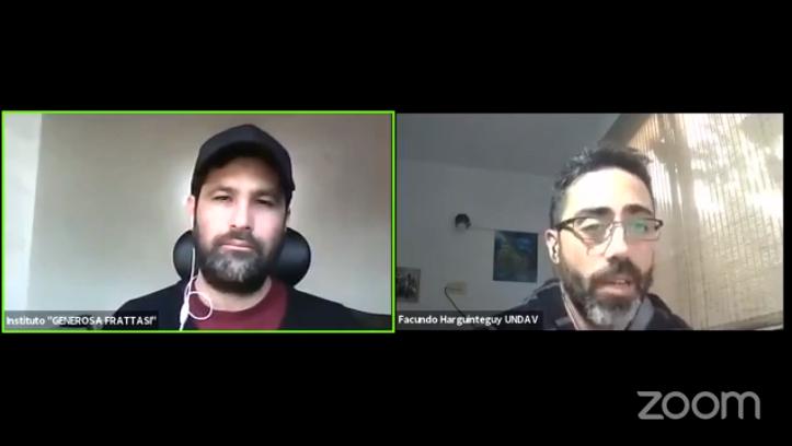«ECONOMÍA POPULAR Y UNIVERSIDAD»: Video completo de la charla con Facundo Harguinteguy