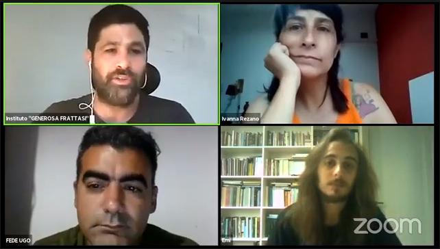 «Reproducción social y comunidad»: Video completo de la charla junto a Ivanna Rezano, Emiliano Exposto y Federico Ugo.